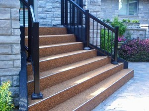 Rubaroc on steps